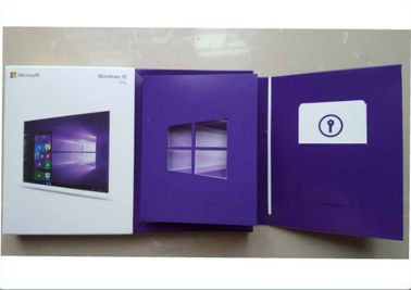 32 64 Bit Windows 10 Pro Retail Box 100% Online Activation With COA Licence Sticker